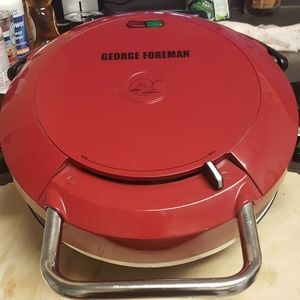 Used, All new George Foreman grill and cookbook for sale